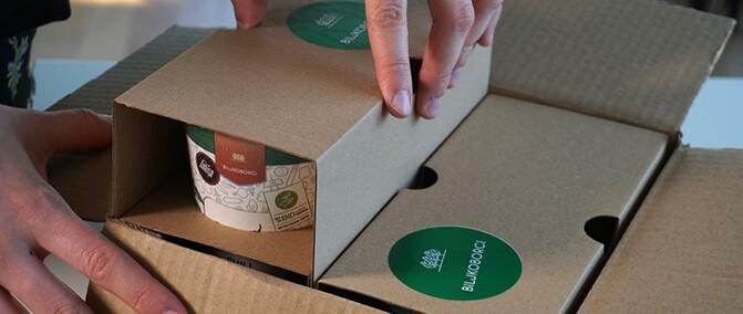 Biljkobox M  | 4 čašice
